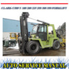 Thumbnail CLARK C500 Y 180 200 225 250 300 350 WORKSHOP MANUAL